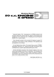 Derbi 50 cc 6 speed engine workshop manual - Scootergrisen