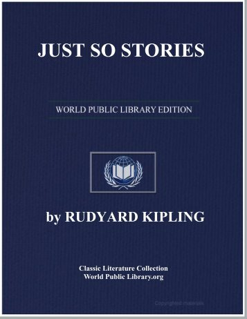JUST SO STORIES - World eBook Library
