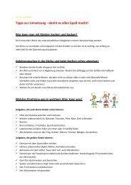 Tipps zur Umsetzung - damit es allen Spaß macht! - Diakonie + ...
