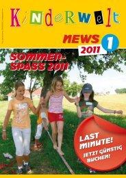 soMMer- spass 2011 - OÖ Kinderwelt