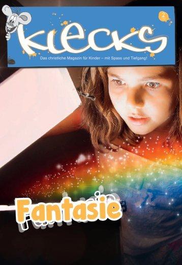Das christliche Magazin für Kinder – mit Spass und Tiefgang! - Klecks