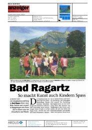 So macht Kunst auch Kindern Spass - Bad Ragartz