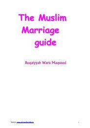 The Muslim Marriage guide - Bihar Anjuman