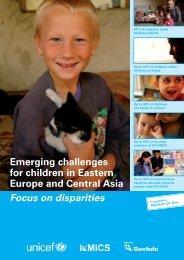 Emerging challenges for children in Eastern Europe ... - Childinfo.org