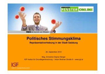 Salzburg-Stadt Stimmungsklima IGF/SF (pdf)