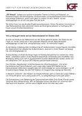 Ist seit der Nationalratswahl 2006 bei den folgenden Ministern ... - IGF - Page 2