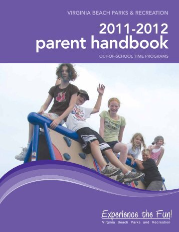 parent handbook - City of Virginia Beach