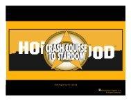 Crash Course to Stardom deck PDF - No.4 Entertainment