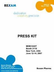 MDM EAST press kit - 2007