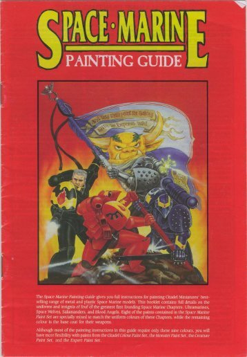 Space Marines - Painting Guide - Lski.org