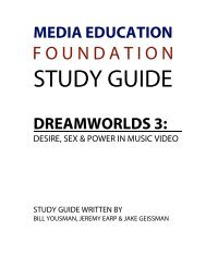 Study Guide - Media Education Foundation