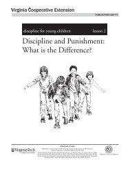 Discipline and Punishment: What is the Difference? - Publications ...