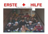 Erste Hilfe Kurs 1/2 AKT - HTL Kapfenberg