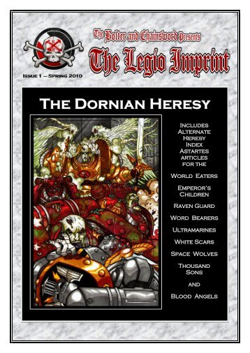The Dornian Heresy - The Bolter and Chainsword