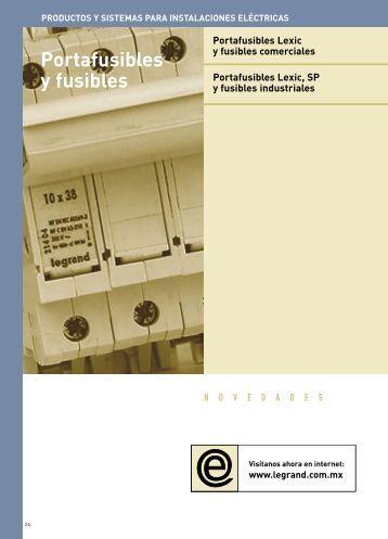 Portafusibles y fusibles comerciales - Legrand