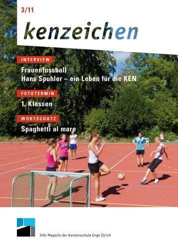 Frauenfussball Hans Spuhler – ein Leben für die Ken 1. Klassen ...