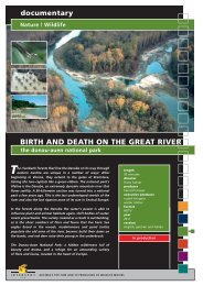 Wildlife BIRTH AND DEATH ON THE GREAT RIVER ... - Interspot Film