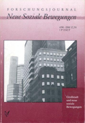 und Wohnungspolitik der rotgrünen Koalition in (West-)Berlin
