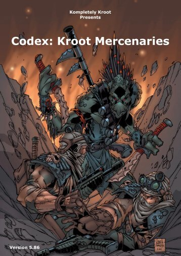 Codex: Kroot Mercenaries - Index of