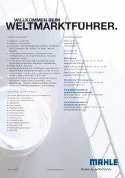 willkommen beim weltmarktfuhrer. - mahle.com