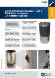 Teil 4 Kavitation an nassen Zylinderlaufbuchsen - MS Motor Service ...
