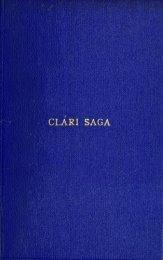 Clari saga;