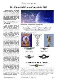 Der Planet Nibiru und das Jahr 2012