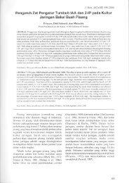 Pengaruh Zat Pengatur Tumbuh IAA dan 2-IP pada Kultur - Pustaka