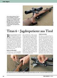 Titan 6 – Jagdrepetierer aus Tirol - Rössler