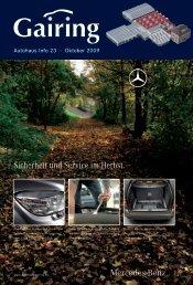 Sicherheit und Service im Herbst. - Gairing GmbH & Co. KG