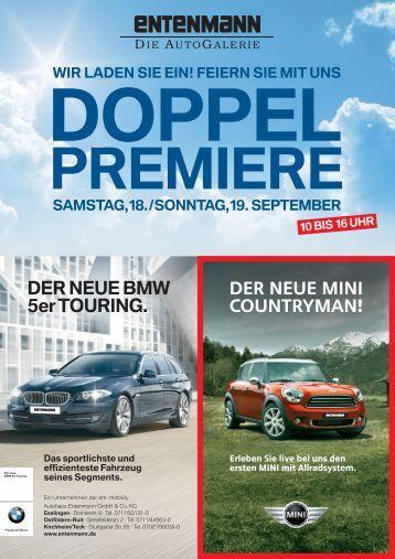 DER NEUE BMW 5er TOURING. - Autohaus Schräpler GmbH