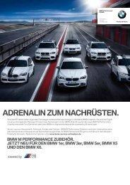 (F20). neu und direkt von der rennstrecke. - BMW 1er