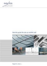 Teknisk guide för tak av rostfritt stål - Euro Inox