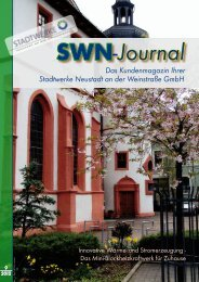 Stadtwerke Neustadt an der Weinstraße GmbH Das ...