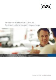 Ihr starker Partner für EDV- und ... - Kfz-Betrieb