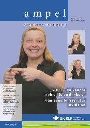 Film sensibilisiert für Inklusion - Unfallkasse Rheinland-Pfalz