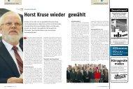 Horst Kruse wieder gewählt - Nord-Handwerk
