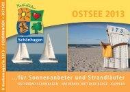 Urlaubsmagazin 2013 (PDF) - Ostseebad Schönhagen, Brodersby