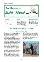 10 Jahre Rennsteig – Carree - Suhl-Nord