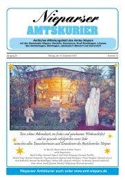 Amtskurier Dezember 2012 - Amt Niepars