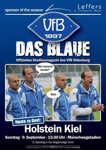 Das Blaue - Saison 2012/2013 #3 - VfB Oldenburg