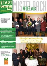 Gemeindezeitung 2007/1 - Mistelbach