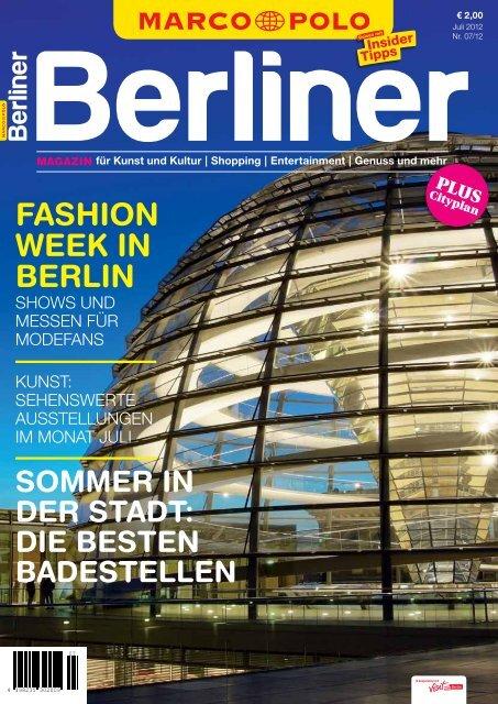 FASHION WEEK IN BERLIN - Berliner Zeitung