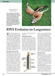 RWS Evolution im Langzeittest - Rössler