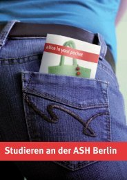 pdf-Version zum Download - Alice Salomon Hochschule Berlin