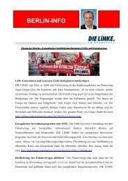 Berlin-Info 28 - MdB Alexander Ulrich