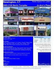 Newington, CT 3065-3105 Berlin Turnpike Jo ... - Royal Properties