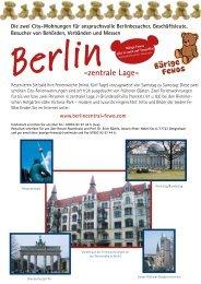 Berlin-zentrale Lage- - BerlinCentral-Fewo