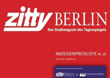 kalender 2012 - Zitty Berlin