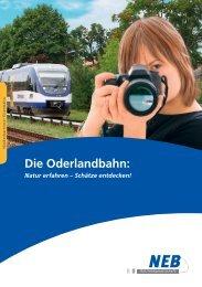 Die Oderlandbahn: - NEB